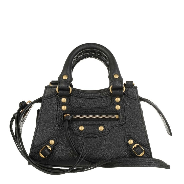 Handtasche, Balenciaga, Neo Classic City Nano Bag Grained Calfskin Black