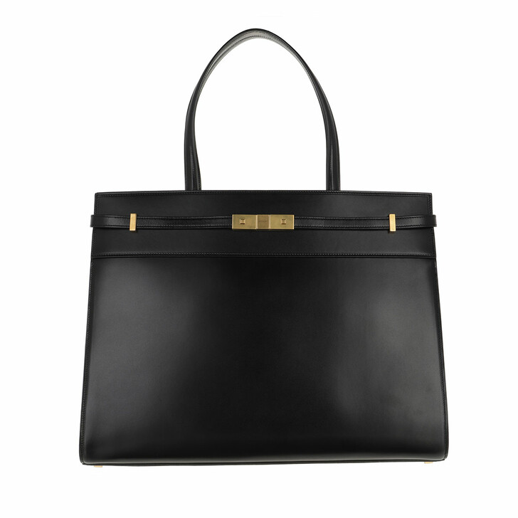 Handtasche, Saint Laurent, Tote Leather Black