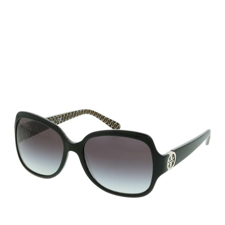 Sonnenbrille, Tory Burch, Women Sunglasses Classic 0TY7059 Black Stich