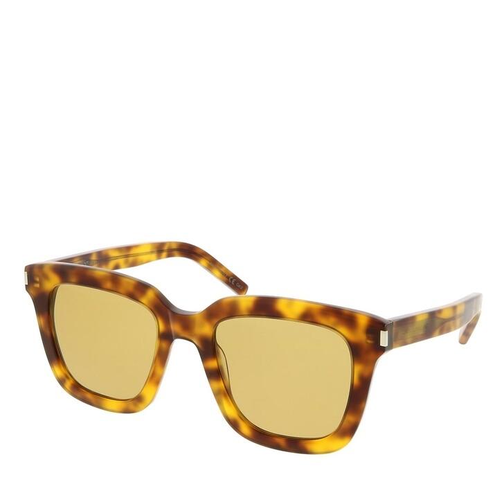 sunglasses, Saint Laurent, SL 465-003 51 Sunglass Woman Acetate Havana-Havana-Yellow