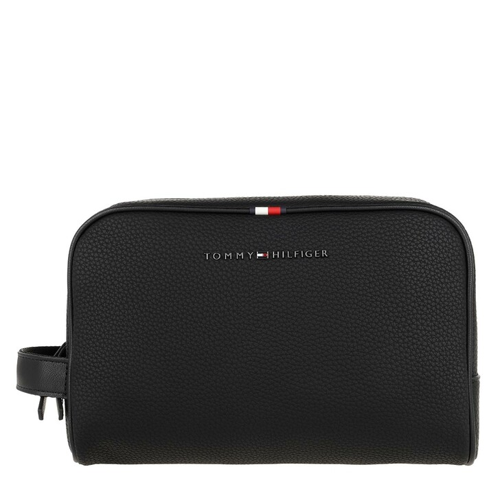 necessaires, Tommy Hilfiger, Essential Washbag Black