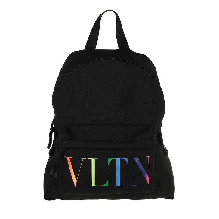 Reisetasche, Valentino, VLTN Backpack Nylon Black/Multi