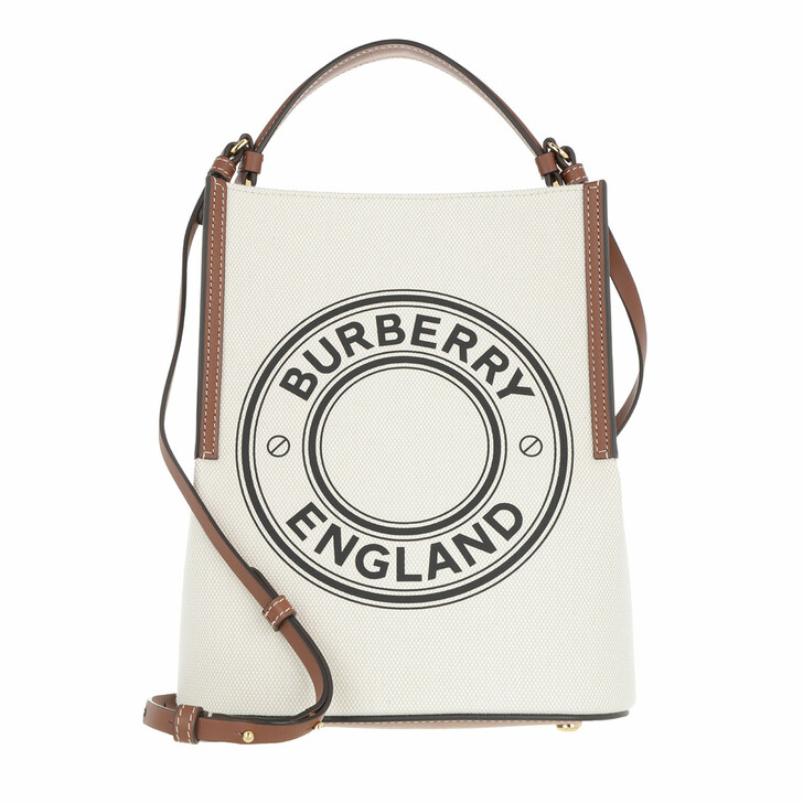 Handtasche, Burberry, Small Peggy Crossbody Bag Natural