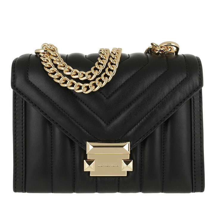 Handtasche, MICHAEL Michael Kors, Small Shoulder Handbag  Leather Black