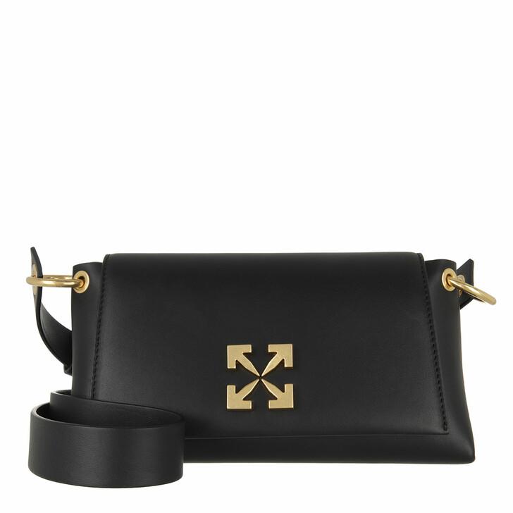 Handtasche, Off-White, Arrow Shoulder Bag 19 Black