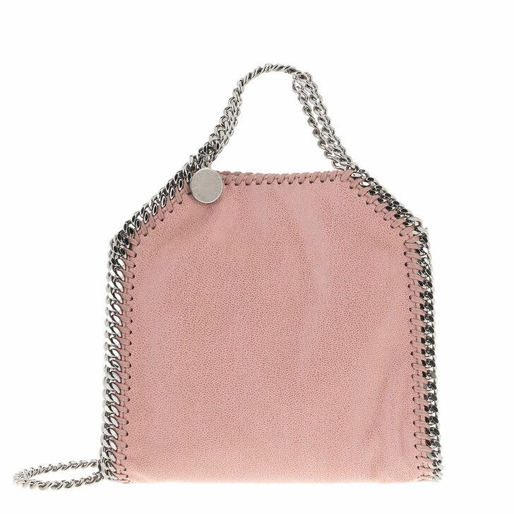 Handtasche, Stella McCartney, Tiny Falabella Shaggy Deer Pink