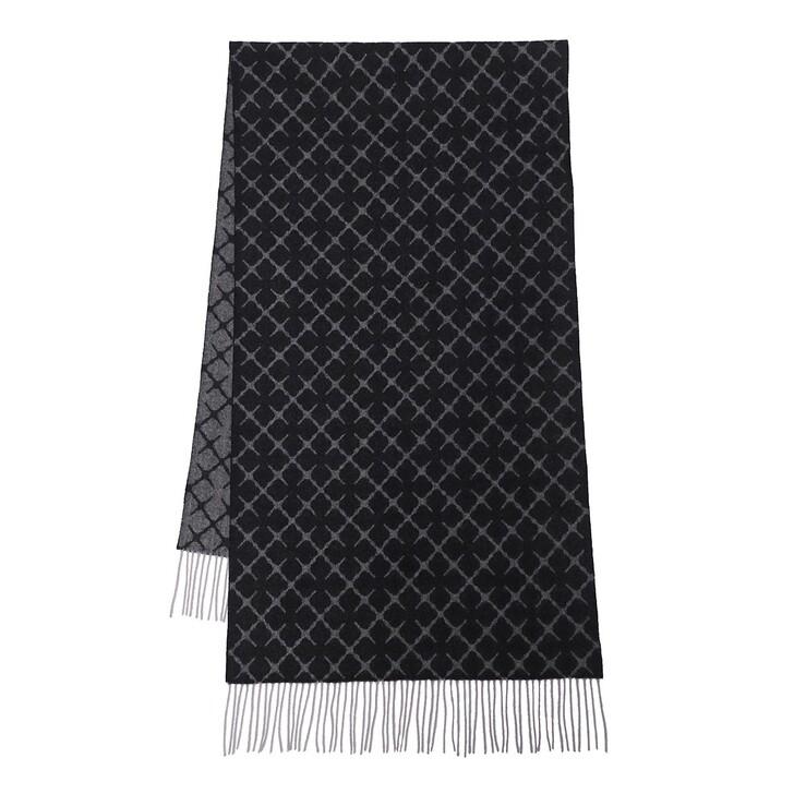 scarves, By Malene Birger, Ortega Wool Scarf  Black