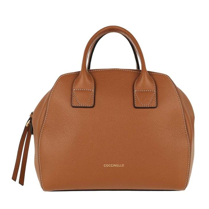 bags, Coccinelle, Concrete Journal Handle Bag Leather