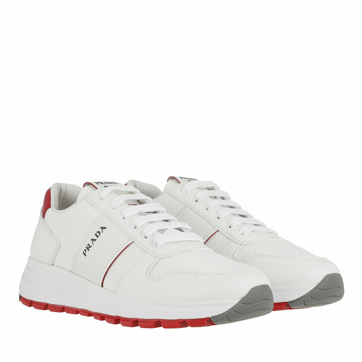 Schuh, Prada, Prax01 Sneakers White Red