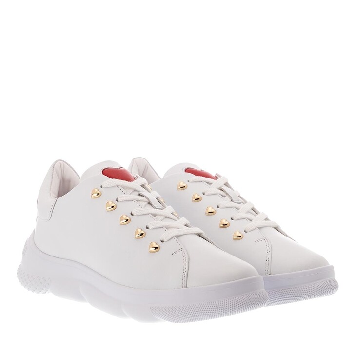 Schuh, Love Moschino, Sneaker Camp40 Vitello  Bianco