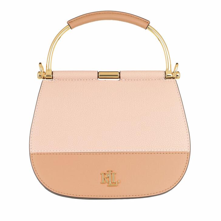 Handtasche, Lauren Ralph Lauren, Mason 20 Satchel Mini Ballet Pink/Nude