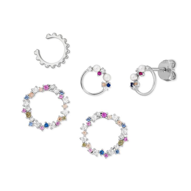 earrings, Leaf, Ear Candy Set 1 Sterlingsilver Silver