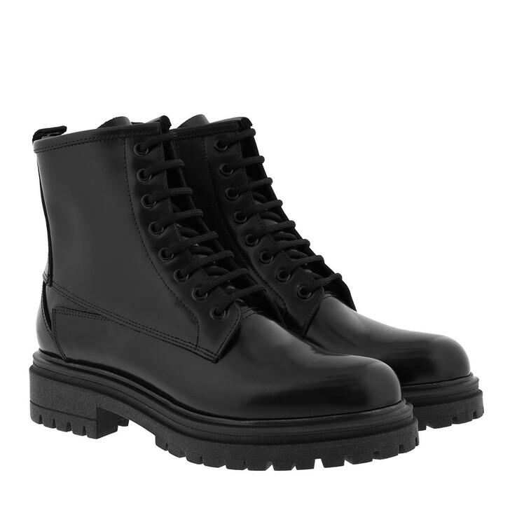 Schuh, Hugo, Alpha Bootie Black