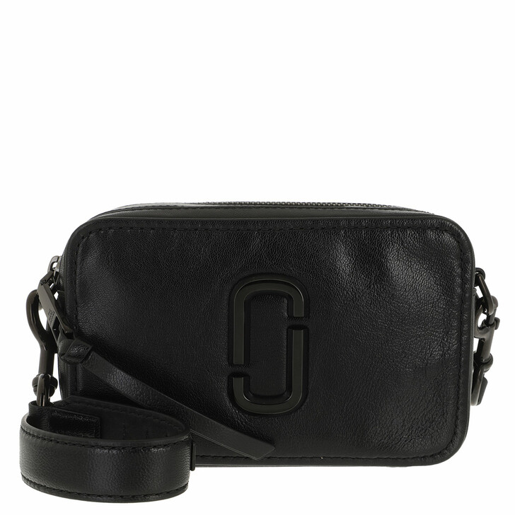 bags, Marc Jacobs, The Softshot DTM Crossbody Leather Black