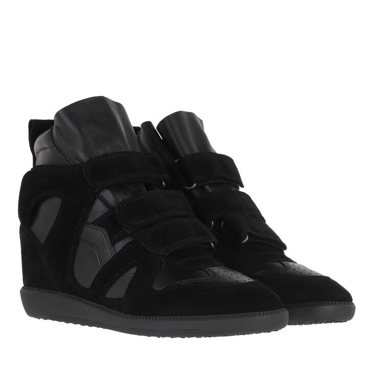 shoes, Isabel Marant, Buckee Sneakers Black