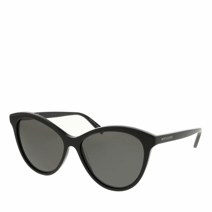 sunglasses, Saint Laurent, SL 456-001 57 Sunglass WOMAN ACETATE BLACK