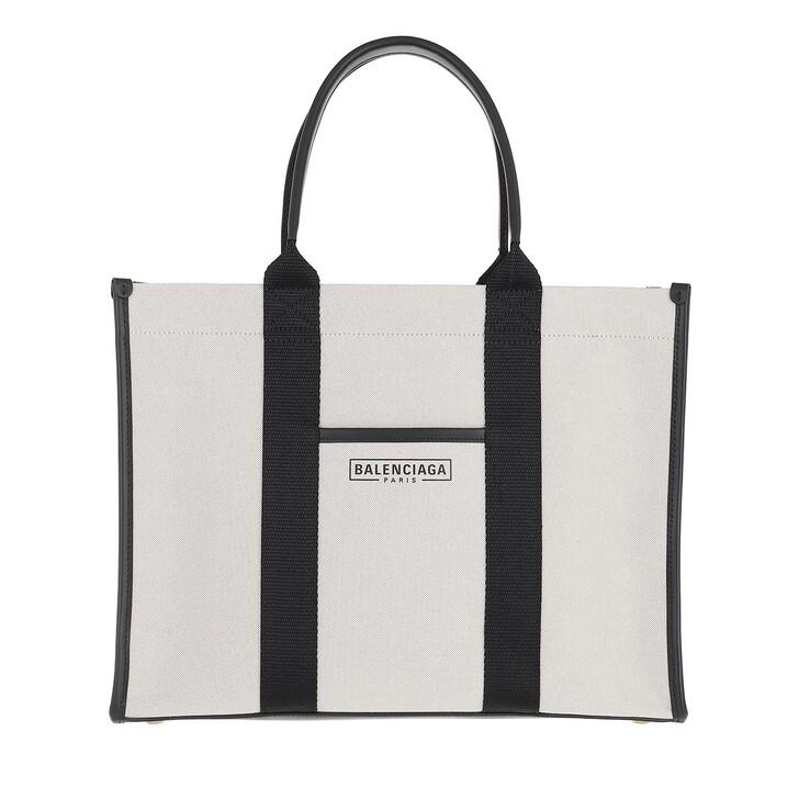 bags, Balenciaga, Shopping Bag Leather Beige