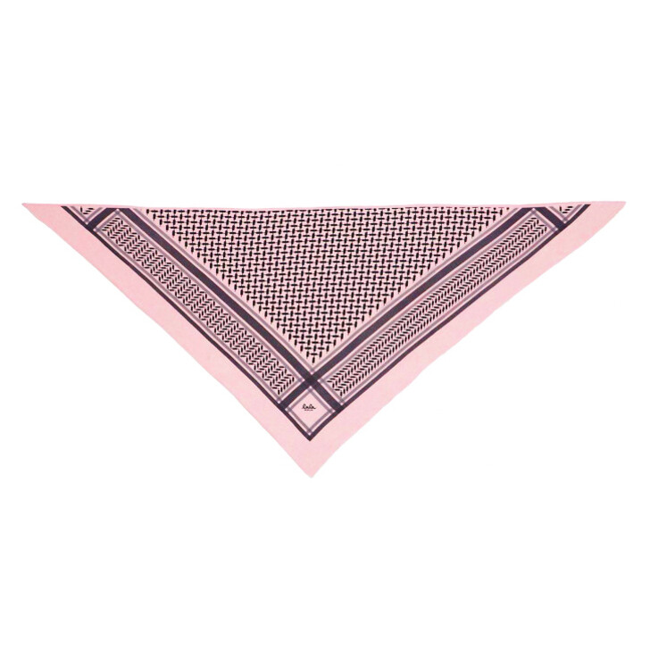 Schal, Lala Berlin, Triangle Trinity Classic M Scarf Candy