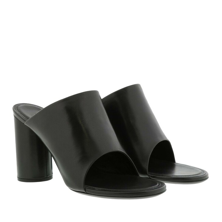Schuh, Balenciaga, Oval Mules Black/White