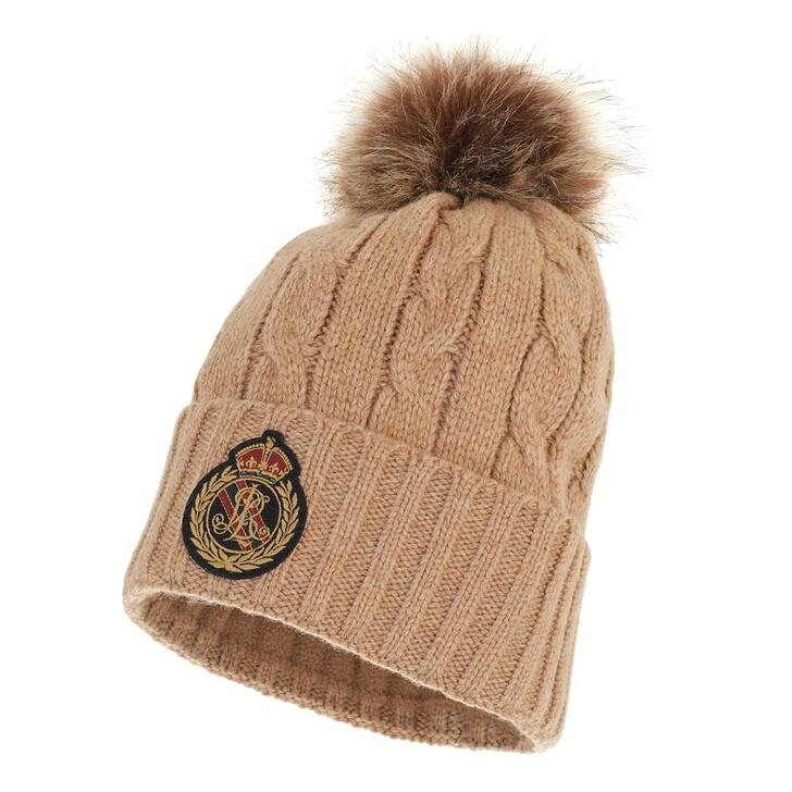 hats, Ralph Lauren, Beanie Hat Classic Camel