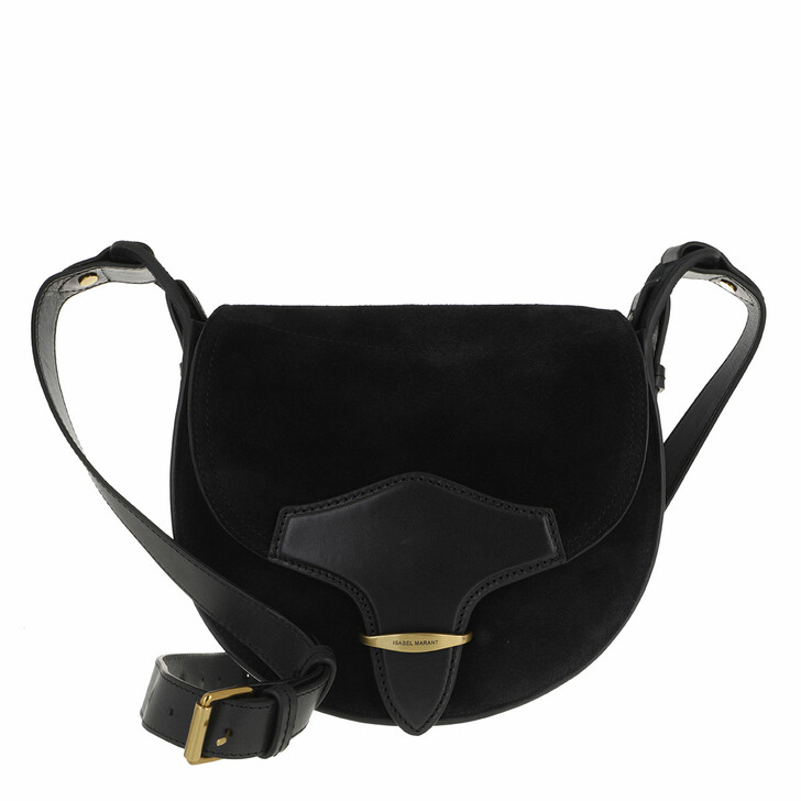 bags, Isabel Marant, Botsy Crossbody Bag Black