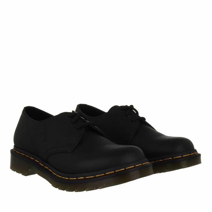 shoes, Dr. Martens, 1461 Virginia Black Virginia