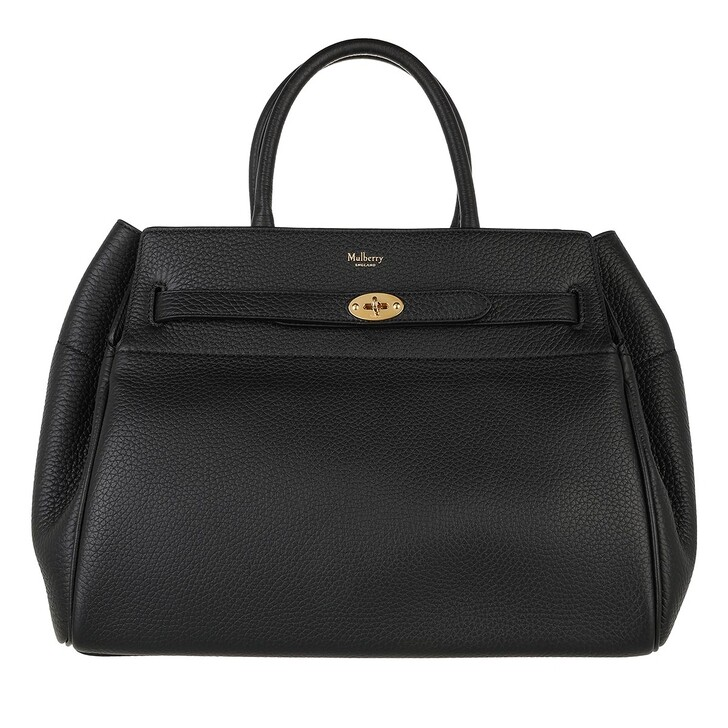 bags, Mulberry, Bayswater Tote Bag Leather Black