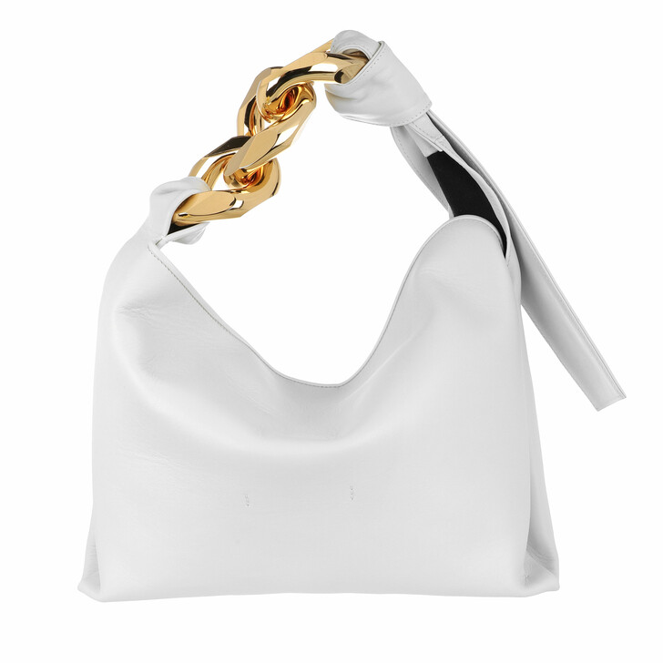 bags, J.W.Anderson, Small Chain Hobo White