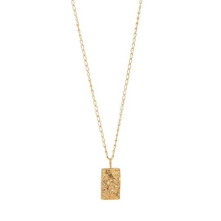necklaces, Released From Love, Classic Necklace 006 Gold Vermeil