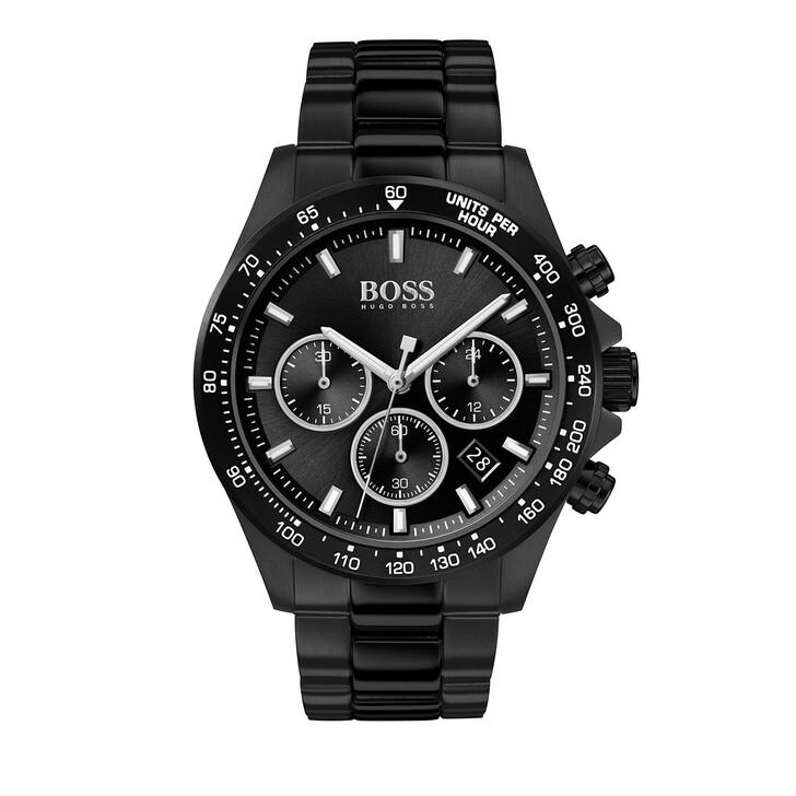 Uhr, Boss, Chronograph Men Hero 1513754 Black