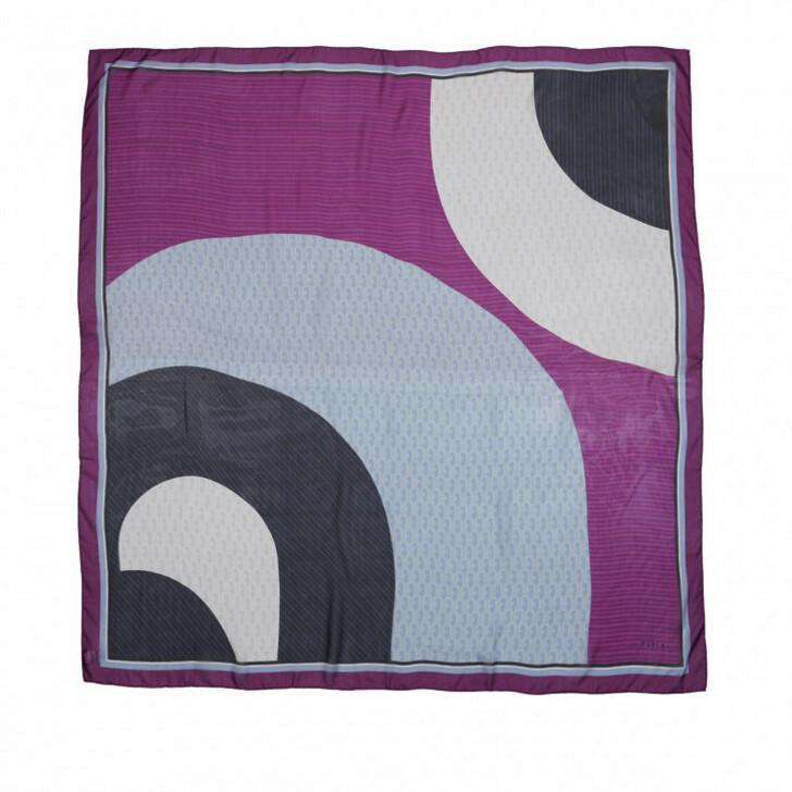 Schal, Furla, Corona Shawl 140X140 Flamingo Purple