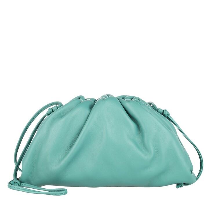 Handtasche, Bottega Veneta, The Mini Pouch Green Water