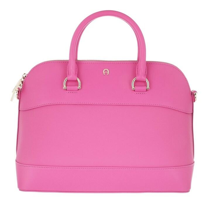 bags, AIGNER, Adria Handle Bag Blossom Pink