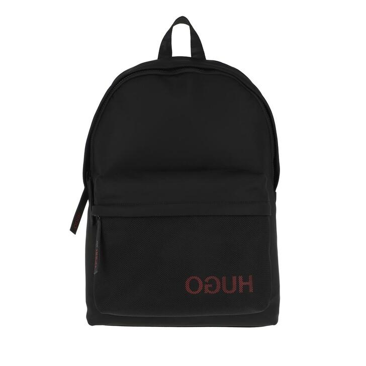 Reisetasche, Hugo, Men Record Backpack Black