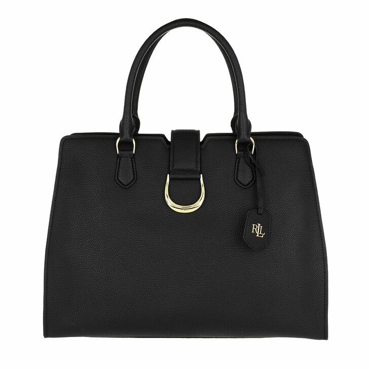 Handtasche, Lauren Ralph Lauren, Kenton City Satchel Bag Medium Black