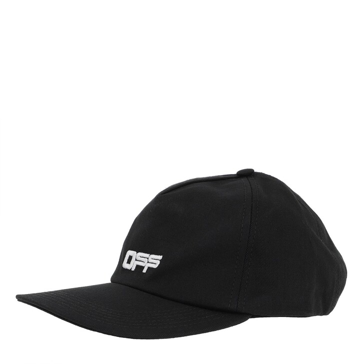 Schal, Off-White, Baseball Cap Black/White
