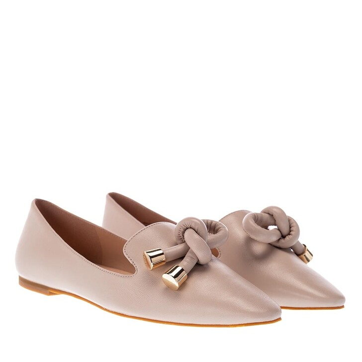 Schuh, What For, Floria Loafers Leather Nude