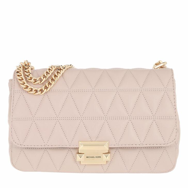 Handtasche, MICHAEL Michael Kors, Sloan LG Chain Shoulder Bag Soft Pink