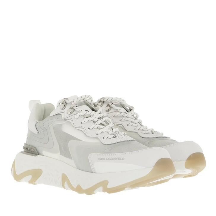 shoes, Karl Lagerfeld, BLAZE Pyro Mix Lace White Ripstop