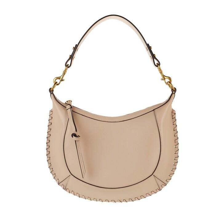 Handtasche, Isabel Marant, Naoko Crossbody Bag Leather Light Beige
