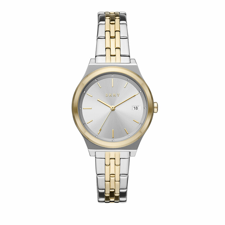 watches, DKNY, Parsons Three-Hand Date Stainless Steel Watch Multicolored