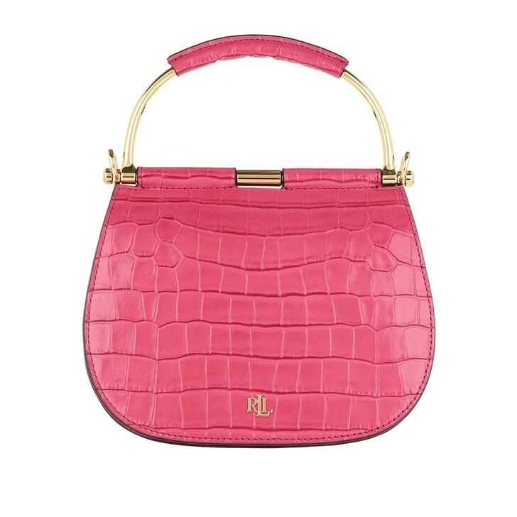Handtasche, Lauren Ralph Lauren, Mason 20 Satchel Bag Mini Ruby