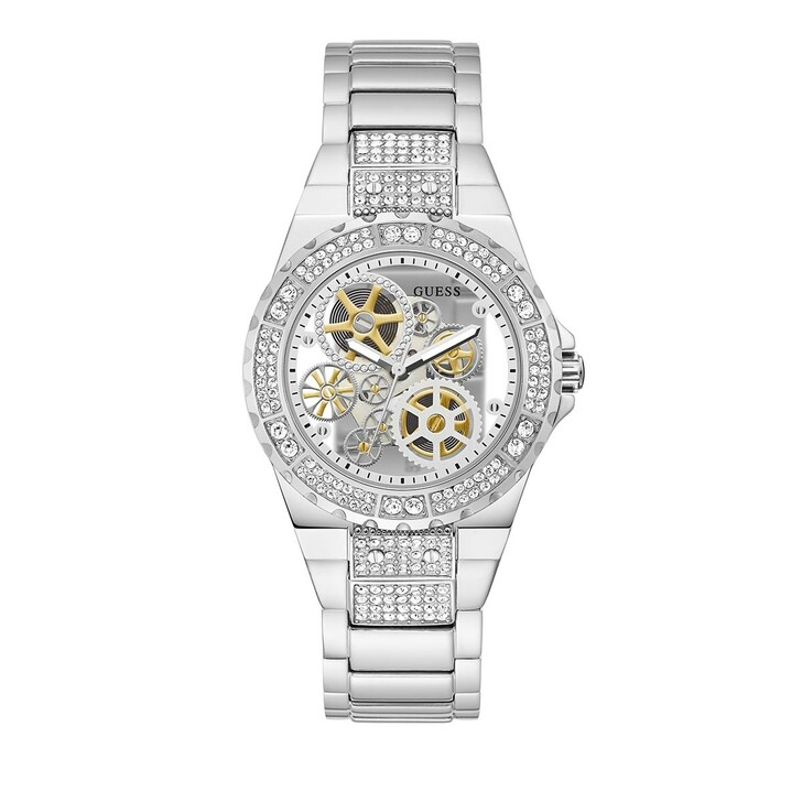 watches, Guess, Ladies Watch Reveal Silver