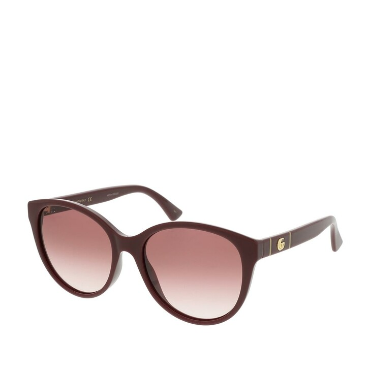 sunglasses, Gucci, GG0631S-003 56 Sunglasses Burgundy-Burgundy-Red