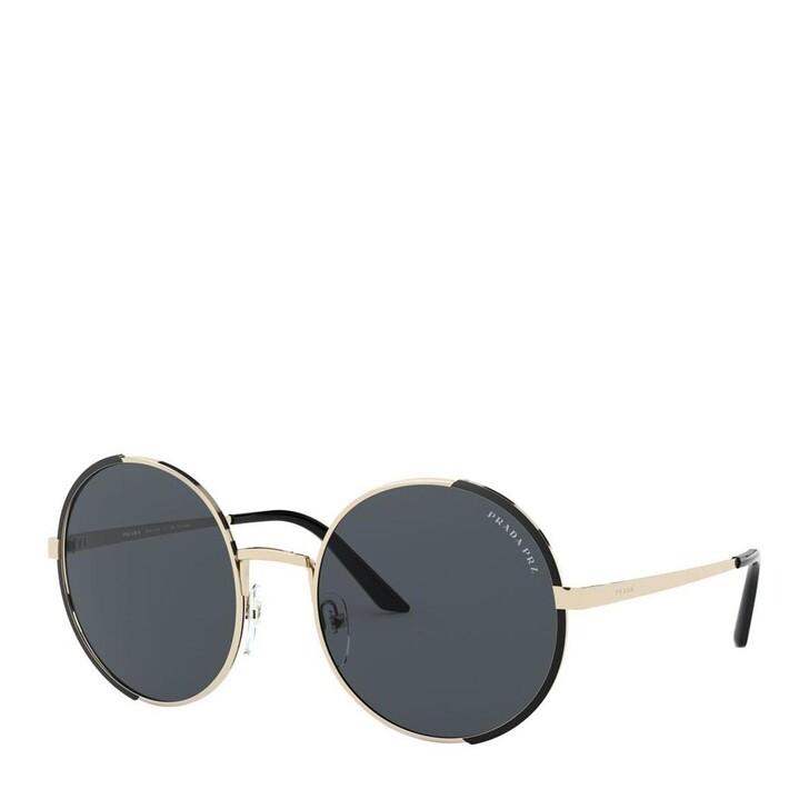 sunglasses, Prada, Women Sunglasses Conceptual 0PR 59XS Pale Gold/Matte Black