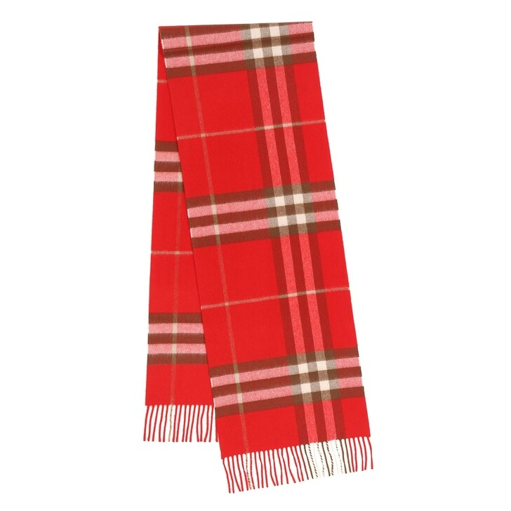 Schal, Burberry, Giant Check Scarf Bright Red
