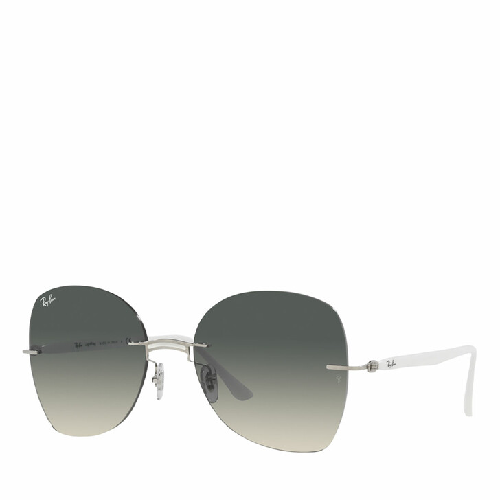 Sonnenbrille, Ray-Ban, 0RB8066 WHITE ON SILVER
