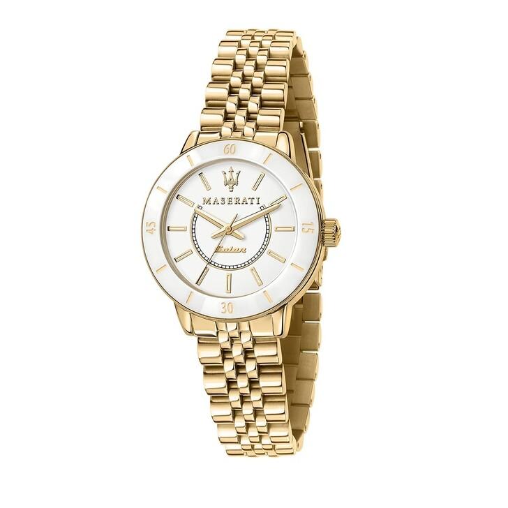 watches, Maserati, Successo Solar 32mm  gold