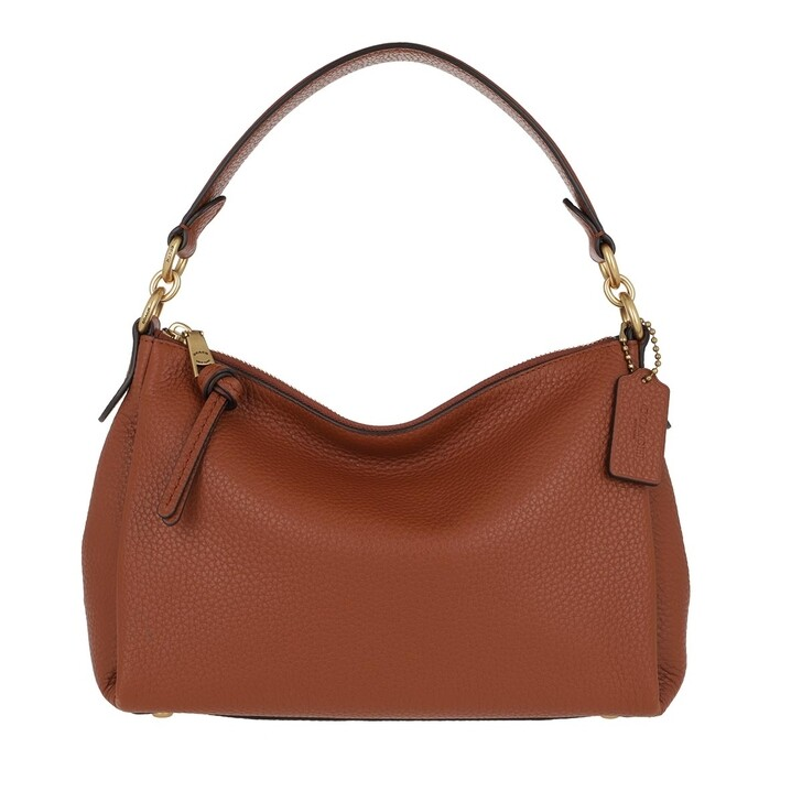 Handtasche, Coach, Soft Pebble Leather Shay Crossbody B4/1941 Saddle