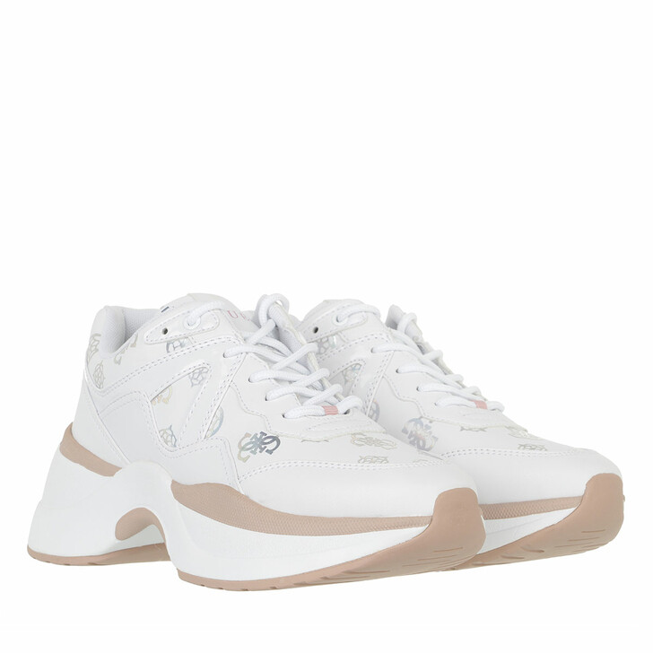 shoes, Guess, Joehle Active Lady White